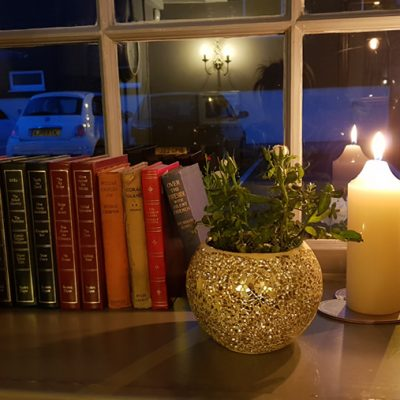 PrivateDining-books+candle